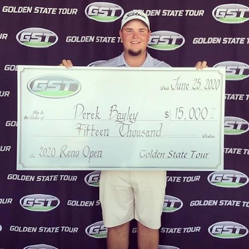 Derek Bayley, 2020 Reno Open Winner
