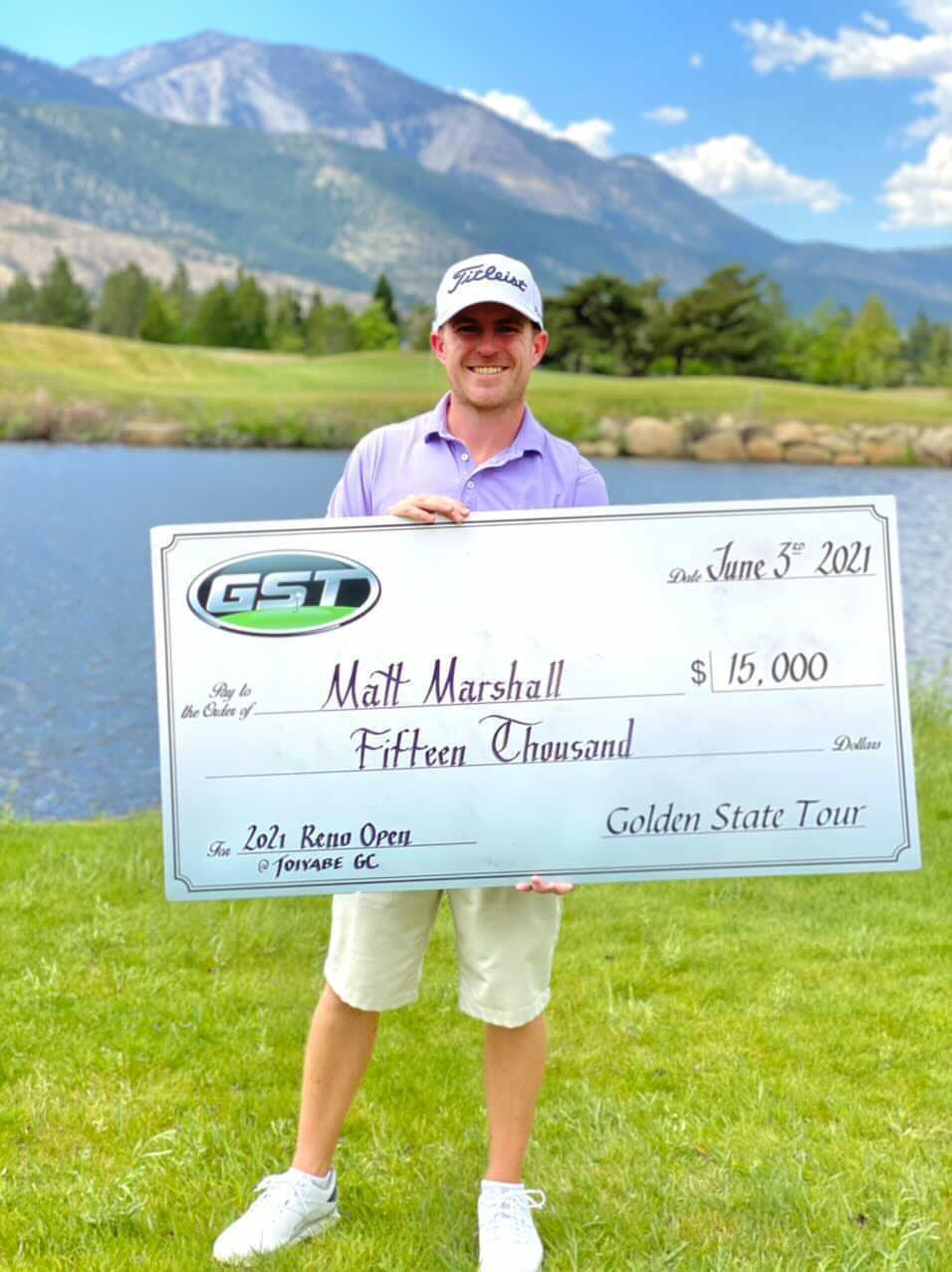Reno Open 2021 Winner - Matt Marshall