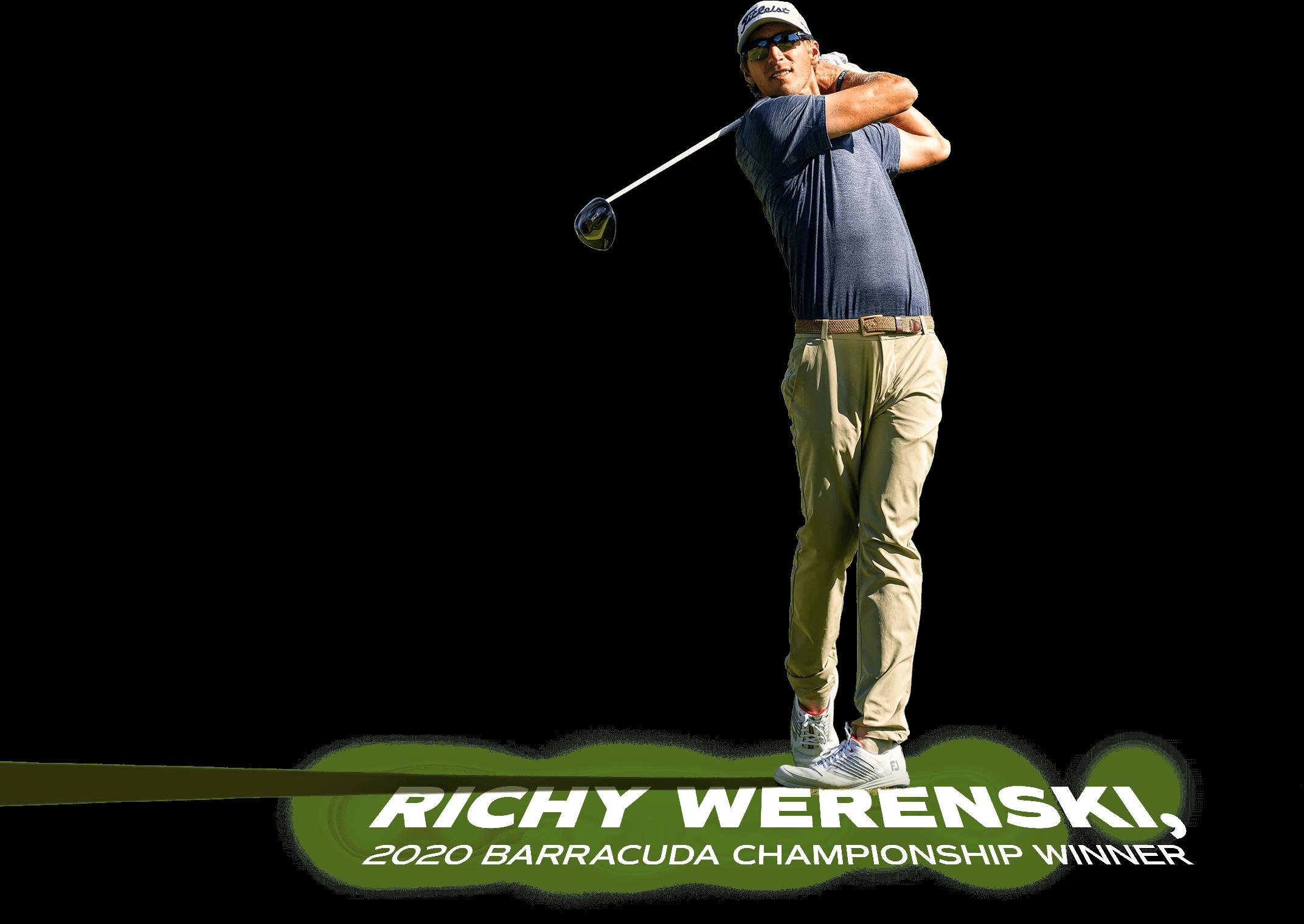 Richy Werenski - 2020 Barracuda Champion